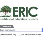 مكتبة ERIC للمعرفة ملايين الدراسات المجانبية pdf