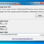 Google Book Downloader برنامج لتحميل الكتب من جوجل بوك
